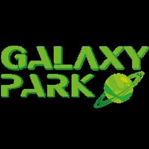 logo complet galaxy park avec planete